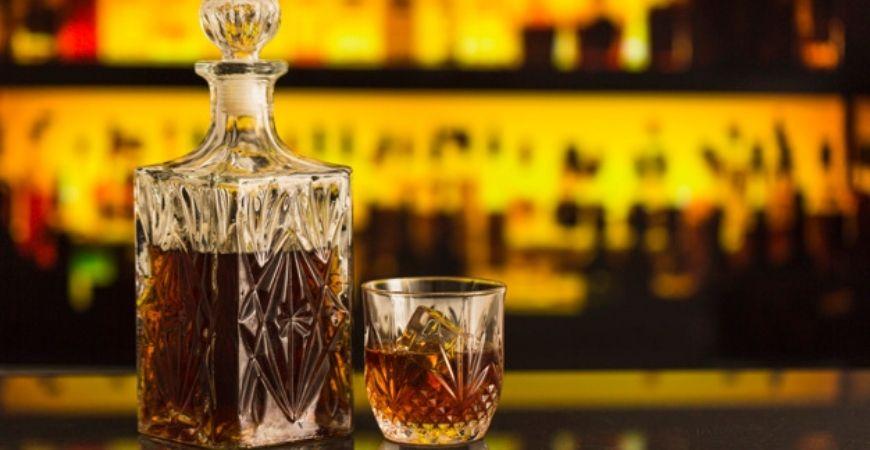 rare whisky bottle